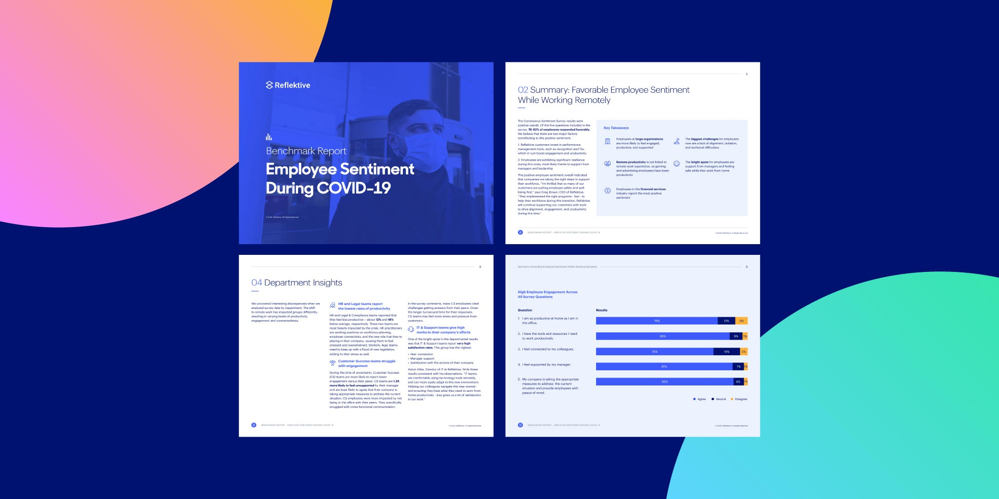 Benchmark Report: Employee Sentiment During Covid - 19